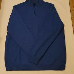 Faconnable marino wool sweater size large
